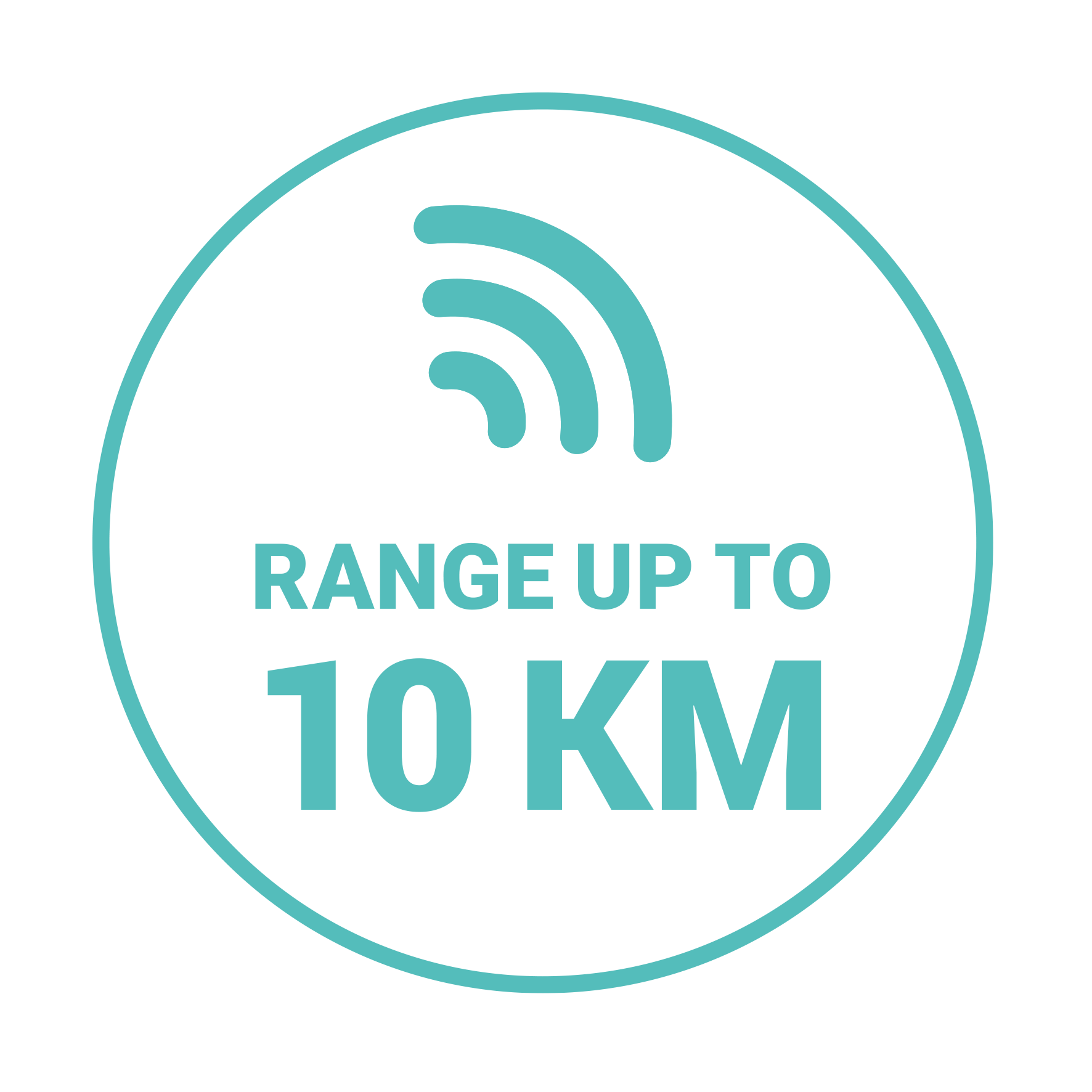 Range up to (10 KM)